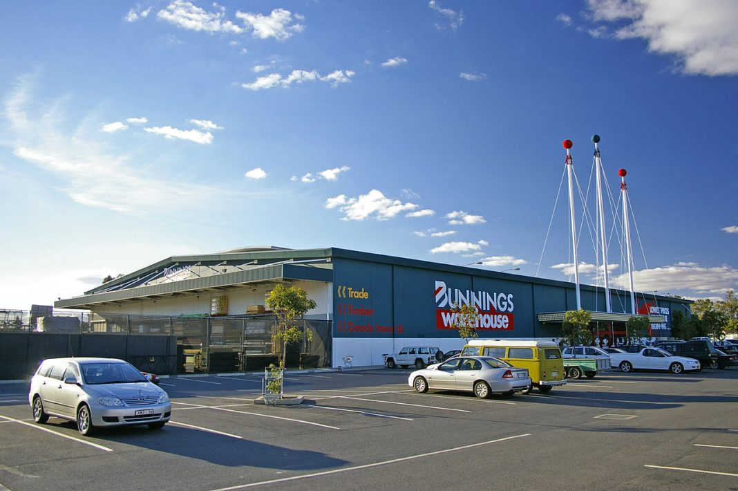 Bunnings leads the home improvement market in Australia